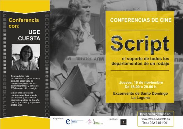 Conferencia Script